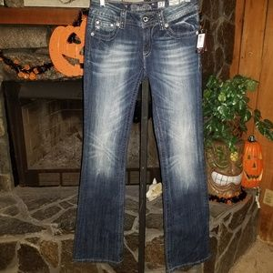 NWT! Miss Me Boot  cut Jeans